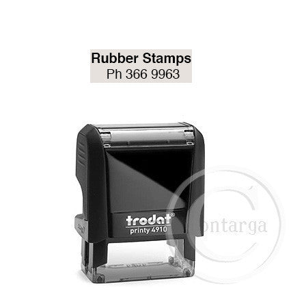 4910 Printy 9 x 26mm - Custom Trodat Self Inking Stamp