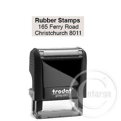 4911 Printy 14 x 38mm - Custom Trodat Self Inking Stamp