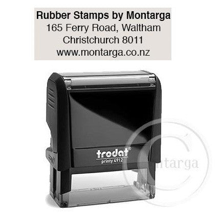 4912 Printy 16 x 46mm - Custom Trodat Self Inking Stamp