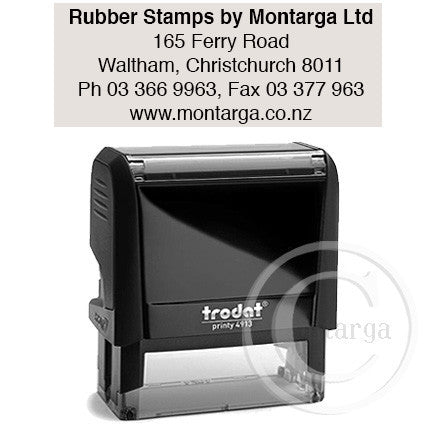 4913 Printy 22 x 58mm - Custom Trodat Self Inking Stamp