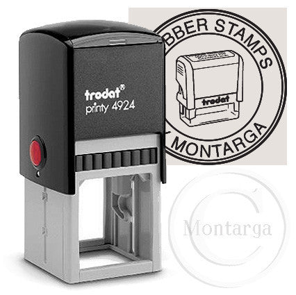 40mm - 4924 Custom Trodat Self Inking Stamp