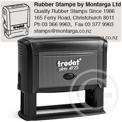 4925 Printy 25 x 82mm - Custom Trodat Self Inking Stamp