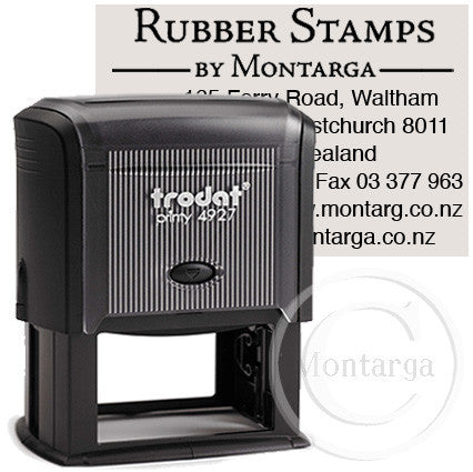 4927 Printy 40 x 60mm - Custom Trodat Self Inking Stamp