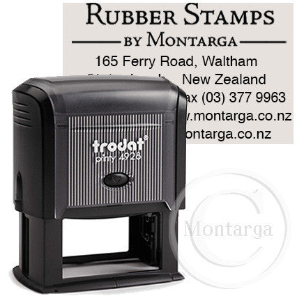 4929 Printy 30 x 50mm - Custom Trodat Self Inking Stamp