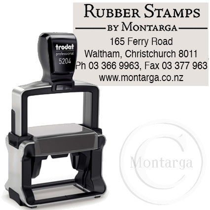 5204 - 26 x 56mm Professional Trodat Self Inking Stamp