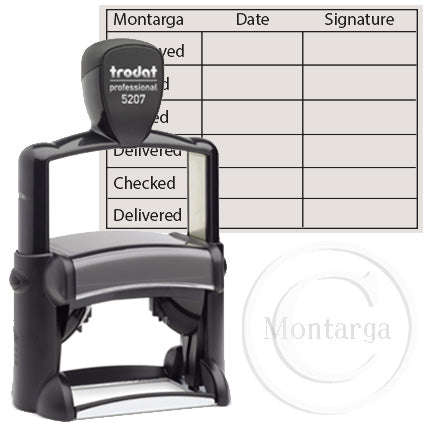 5207 - 40 x 60mm Professional Trodat Self Inking Stamp