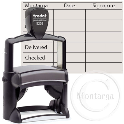 5208 47 x 68mm Professional Trodat Self Inking Stamp