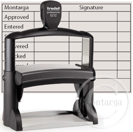 5212 - 116 x 70mm Professional Trodat Self Inking Stamp