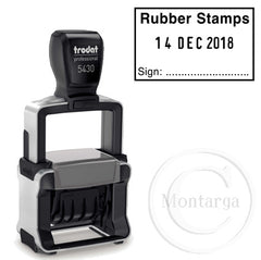 Custom Dater 5430 - Trodat Professional Self Inking Stamp
