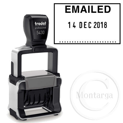 Dater 5430 EMAILED Trodat Self Inking Stamp