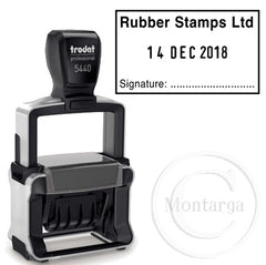 Custom Dater 5440 - Trodat Professional Self Inking Stamp