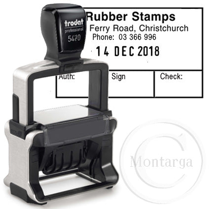 Dater 5470 - Trodat Professional Self Inking Stamp