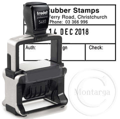 Dater 5480 - Trodat Professional Self Inking Stamp