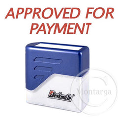 Approved For Payment Deskmate Stamp
