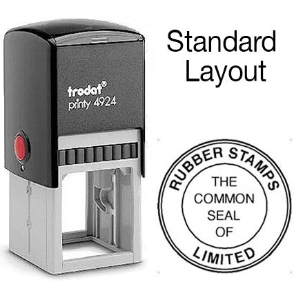 Common Seal Self Inking - Standard Layout - Trodat 4924
