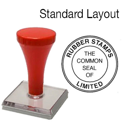 Common Seal - Standard Layout - Vue Stamp