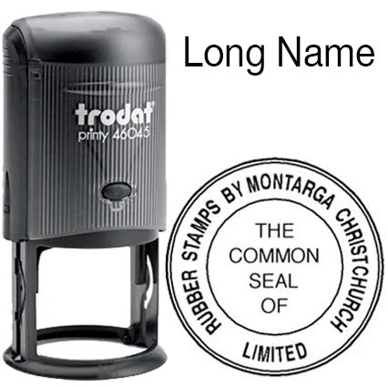 Long Title Common Seal Self Inking - Standard Layout - Trodat 46045