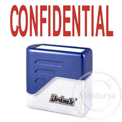 Confidential Deskmate Stamp