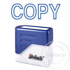 Copy Blue Deskmate Stamp