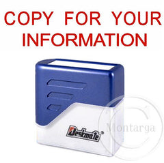 Copy For Your Information Deskmate Stamp
