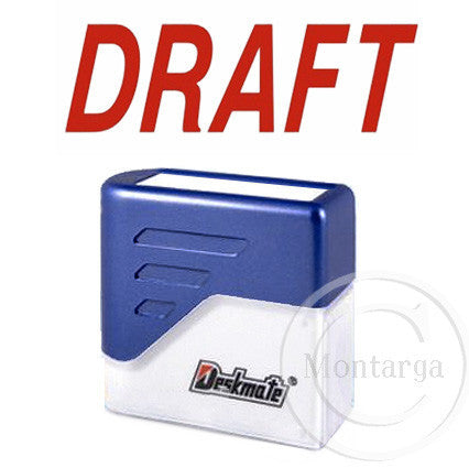Draft Deskmate Stamp