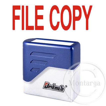 File Copy Deskmate Stamp