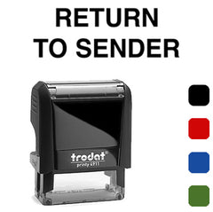 Return To Sender - Trodat 4911