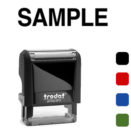 Sample - Trodat 4911