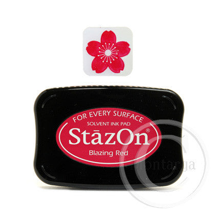 Blazing Red StazOn Pad
