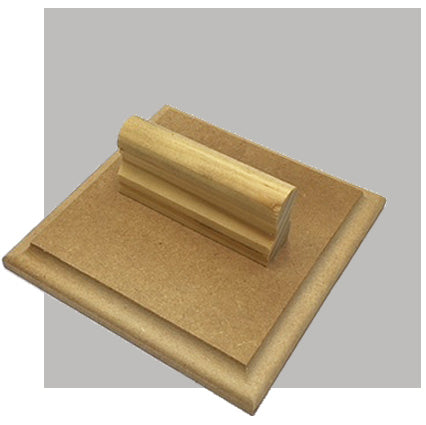W12 - 100 x 100mm - Wooden Base