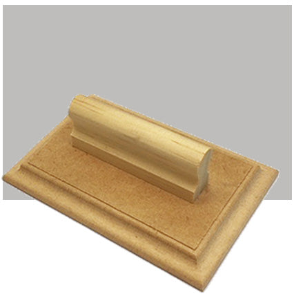 W7 - 80 x 120mm - Wooden Base