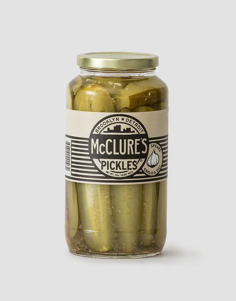 McClures Pickles - Garlic and Dill