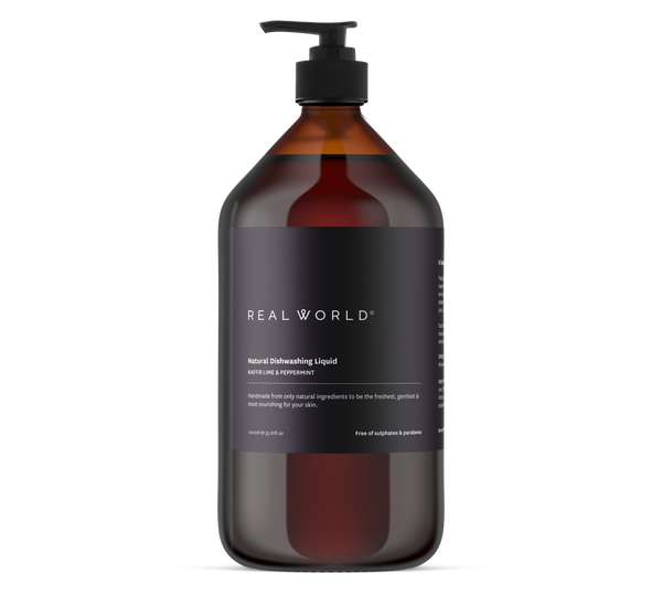 Kaffir Lime & Peppermint Dishwashing Liquid - Real World