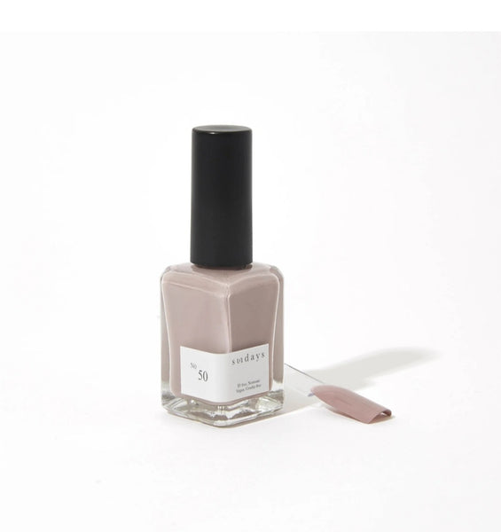 No 50 | Slate - Sundays Nail Polish