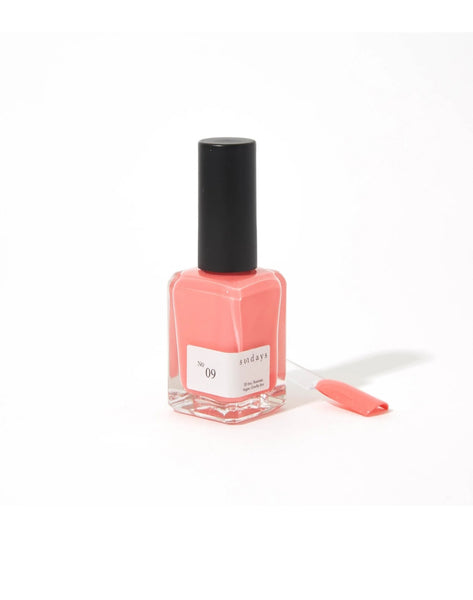 No 9 | Coral - Sundays Nail Polish