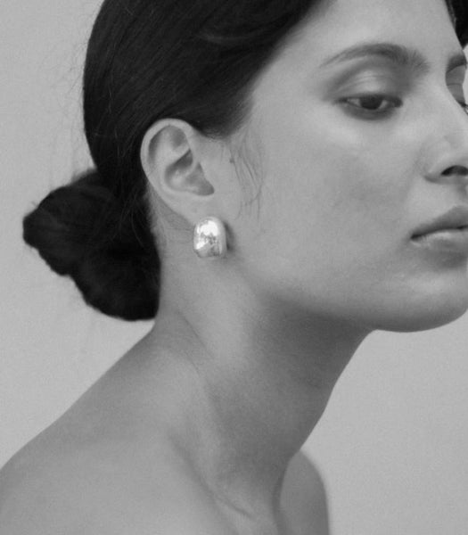 Classic Hoop Earrings  | Silver - Jasmin Sparrow