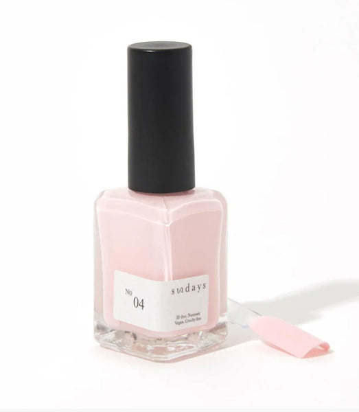 No 4 | Soft baby Pink - Sundays Nail Polish