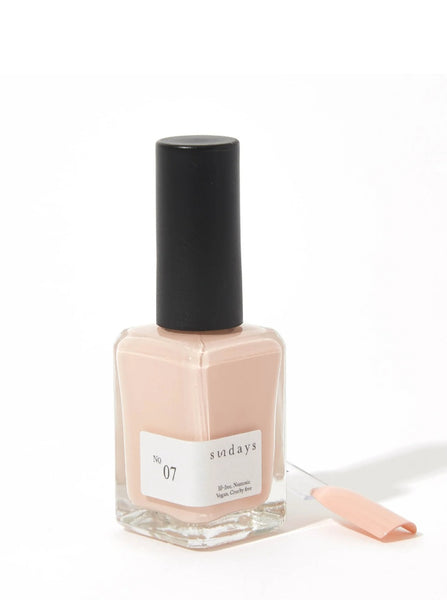 No 7 | Beige Rose - Sundays Nail Polish