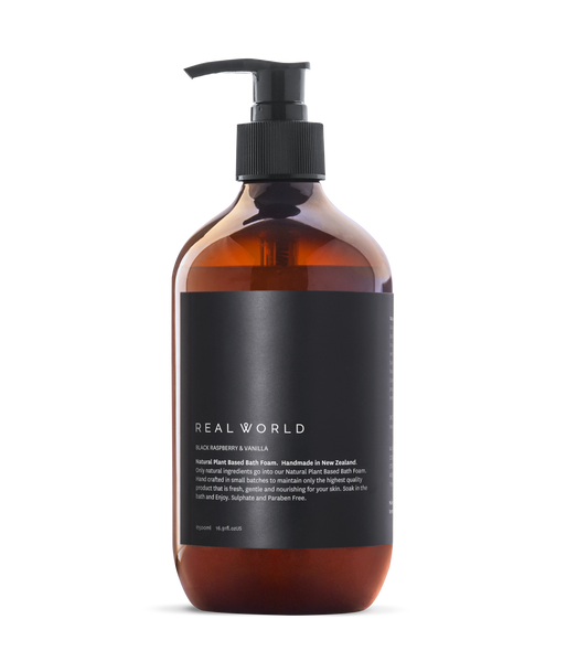 Real World Bath Foam - Ylang Ylang + Bergamot