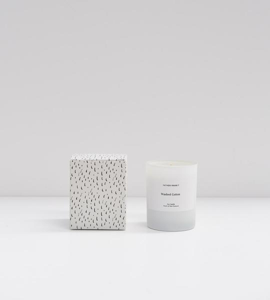 Father Rabbit | Soy Scented Candle | Washed Cotton