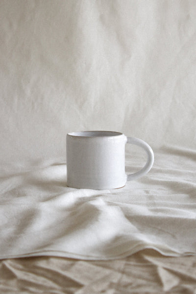 Elio Mug | White - Goodwin Ceramics