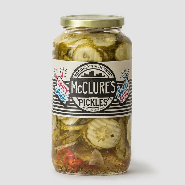 McClures Pickles - Sweet + Spicy