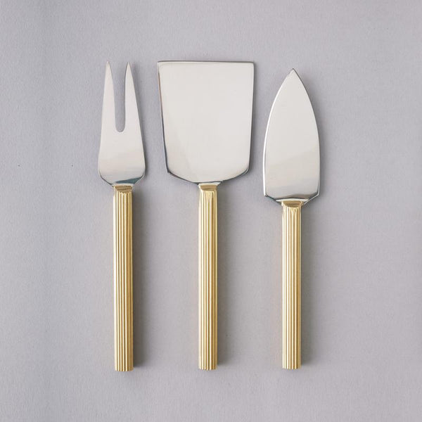 Lino Cheese Knife Set - Nel Lusso