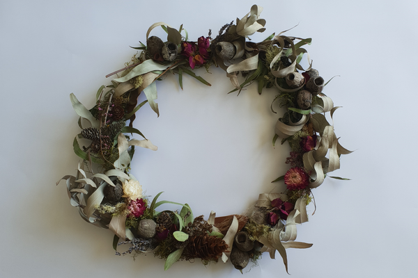 Christmas wreath - Dried Florals