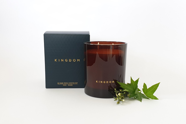 Kingdom Candle - Vetiver + Ivy