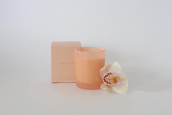Kingdom Candle - Lychee + Black Orchid