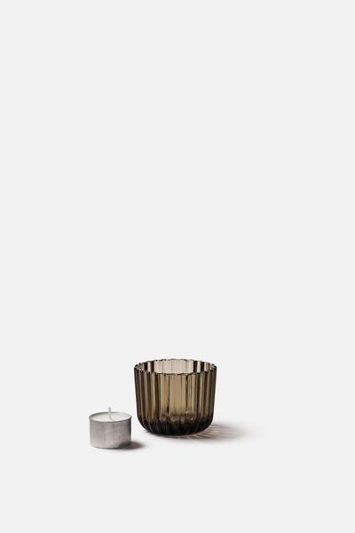 Momentum Tea Light Holder | Smoke Brown  - Citta