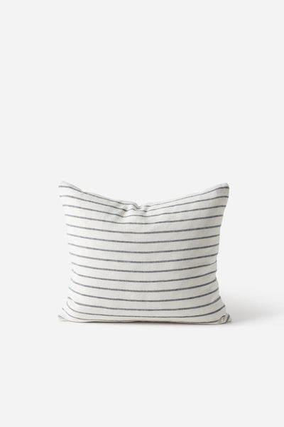Handwoven Stripe Linen Cushion Cover - Citta