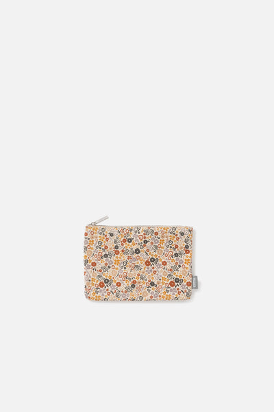 Wild Flower Flat Purse - Multi