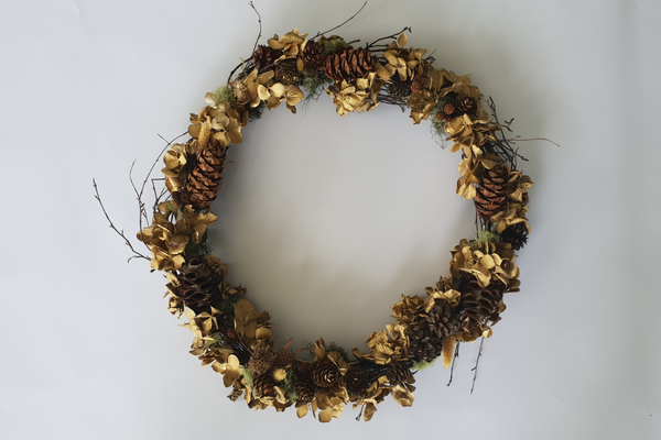 Goldi Wreath
